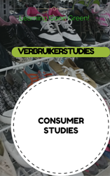 GR12 CONSUMER STUDIES / VERBRUIKERSTUDIES