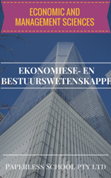 GR9 ECONOMIC AND MANAGEMENT SCIENCES / EKONOMIESE‐ EN BESTUURSWETENSKAPPE