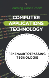 GR11 COMPUTER APPLICATIONS TECHNOLOGY / REKENAARTOEPASSINGTEGNOLOGIE