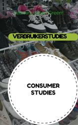 GR11 CONSUMER STUDIES / VERBRUIKERSTUDIES