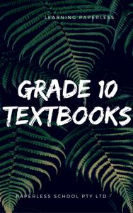 GRADE TEN eTEXTBOOKS
