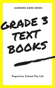 GRADE THREE eTEXTBOOKS